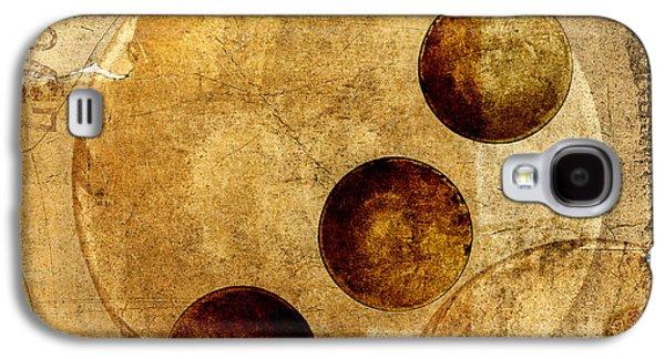 Celestial Spheres Galaxy S4 Case by Carol Leigh