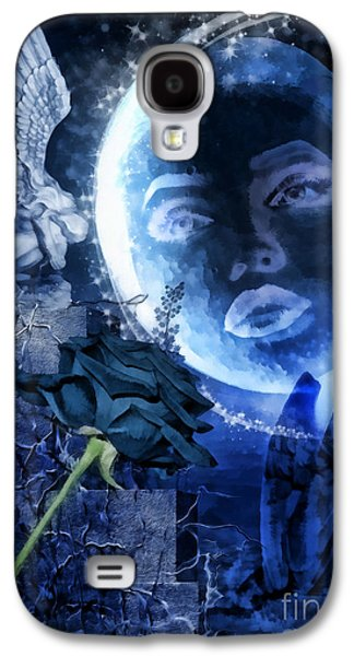 Sparkling Rose Galaxy S4 Cases - Celestine Galaxy S4 Case by Mo T