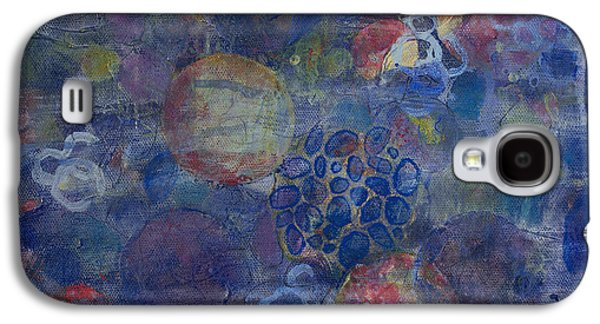 Education Paintings Galaxy S4 Cases - Cell No.21 Galaxy S4 Case by Angela Canada-Hopkins
