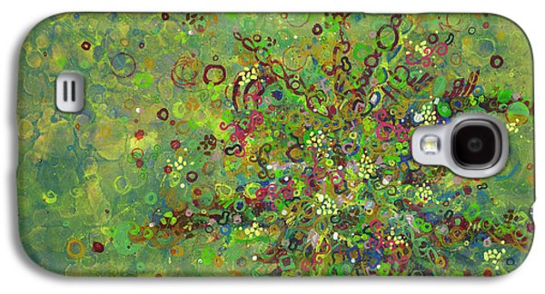 Human Health Galaxy S4 Cases - Cell No.4 Galaxy S4 Case by Angela Canada-Hopkins