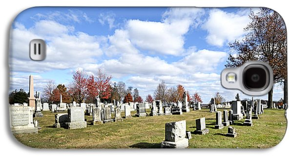 Battlefield Site Galaxy S4 Cases - Cemetery at Gettysburg National Battlefield Galaxy S4 Case by Brendan Reals