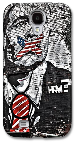 Censorship Galaxy S4 Cases - Censorship Expressed Mural Galaxy S4 Case by Brian Archer