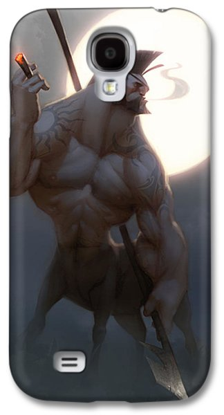 Extinct And Mythical Digital Art Galaxy S4 Cases - Centaur Galaxy S4 Case by Adam Ford