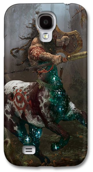 Gathering Galaxy S4 Cases - Centaur Token Galaxy S4 Case by Ryan Barger