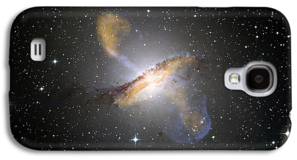 Stellar Paintings Galaxy S4 Cases - Centaurus Galaxy Galaxy S4 Case by Celestial Images