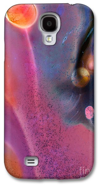 The Nature Center Paintings Galaxy S4 Cases - Center of the Magentic Oort Cloud Galaxy S4 Case by Wernher Krutein