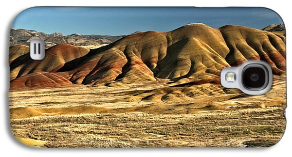 Surreal Landscape Galaxy S4 Cases - Central Oregon Painted Hills Galaxy S4 Case by Adam Jewell
