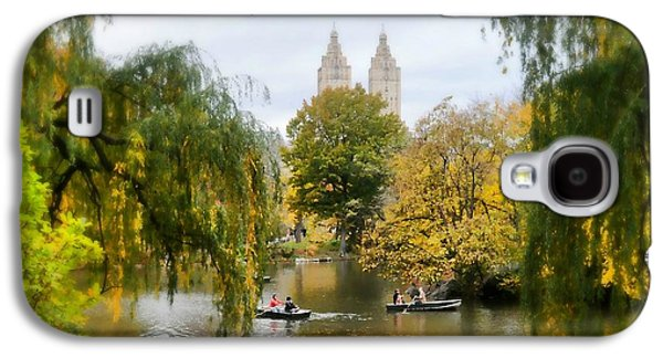 Boaters Galaxy S4 Cases - Central Park #7 Galaxy S4 Case by Diana Angstadt
