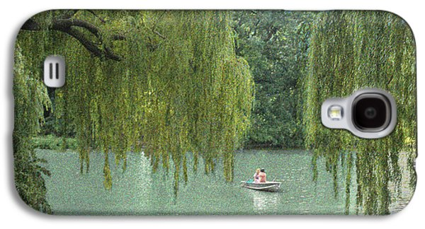 Lazy Digital Galaxy S4 Cases - Central Park Lazy Afternoon Galaxy S4 Case by Muriel Levison Goodwin