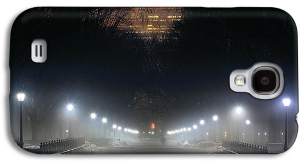Jogging Galaxy S4 Cases - Central Park Shadows Galaxy S4 Case by JC Findley