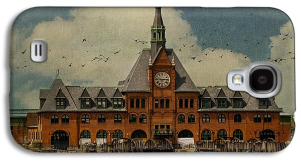 Central Railroad Of New Jersey Galaxy S4 Case by Juli Scalzi
