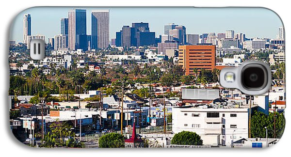 Century City, Beverly Hills, Wilshire Galaxy S4 Case by Panoramic Images