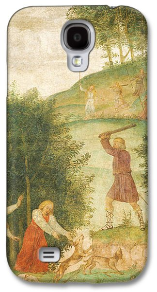 Child Jesus Paintings Galaxy S4 Cases - Cephalus Punished at the Hunt Galaxy S4 Case by Bernardino Luini