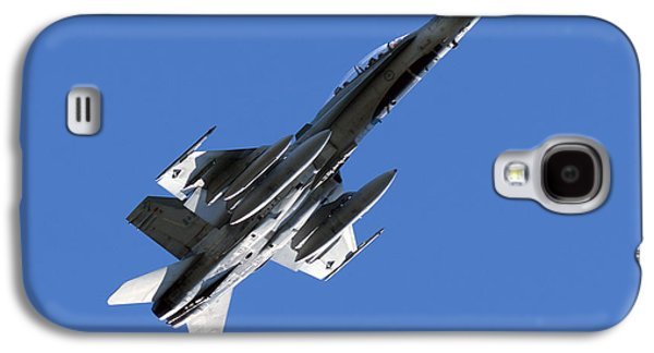 Jet Photographs Galaxy S4 Cases - CF-18 Hornet Galaxy S4 Case by Cale Best