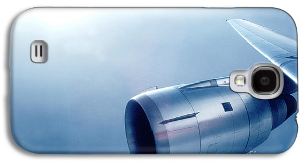 Cf6-6 Jet Engine For A Dc-10 Galaxy S4 Case by Wernher Krutein