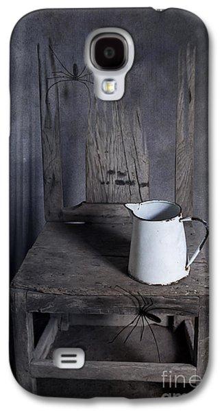 Creepy Digital Galaxy S4 Cases - Chair of Horror Galaxy S4 Case by Svetlana Sewell