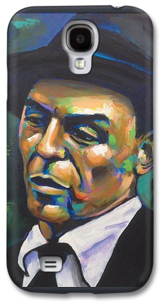 Frank Sinatra Paintings Galaxy S4 Cases - Chairman of the Board Galaxy S4 Case by Stuart Glazer