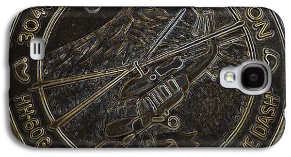 Feet Sculptures Galaxy S4 Cases - Challenge Coin Galaxy S4 Case by Julio R Lopez Jr