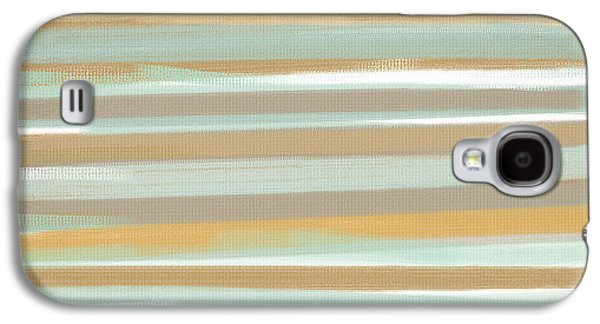 Gold Lime Green Galaxy S4 Cases - Champagne And Gold Galaxy S4 Case by Lourry Legarde