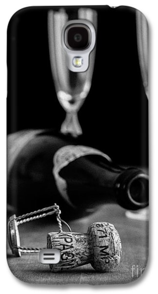 Best Sellers -  - Studio Photographs Galaxy S4 Cases - Champagne Bottle Still Life Galaxy S4 Case by Edward Fielding