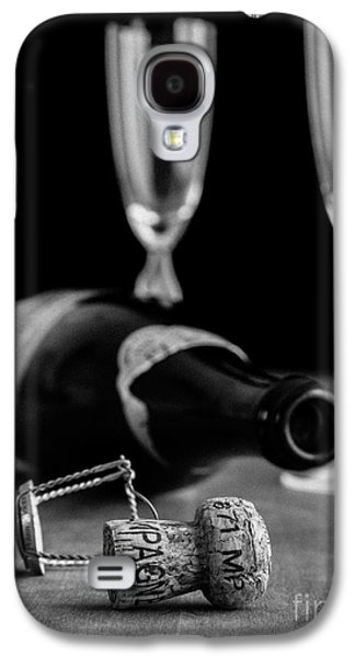 Studio Photographs Galaxy S4 Cases - Champagne Bottle Still Life Galaxy S4 Case by Edward Fielding