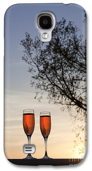 Kaypickens.com Galaxy S4 Cases - Champagne for Two Galaxy S4 Case by Kay Pickens