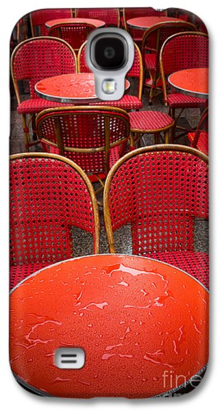 Europa Galaxy S4 Cases - Champs Elysees Cafe Galaxy S4 Case by Inge Johnsson