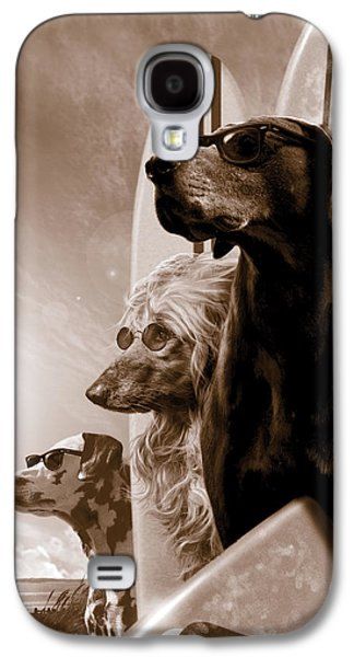 Poodle Galaxy S4 Cases - Changes Galaxy S4 Case by Garry Walton