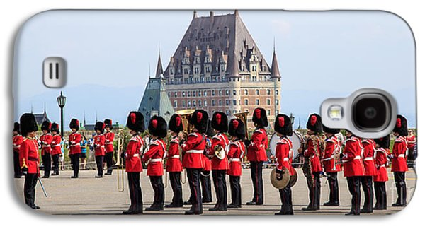 Brigade Galaxy S4 Cases - Changing of the Guard The Citadel Quebec City Galaxy S4 Case by Edward Fielding