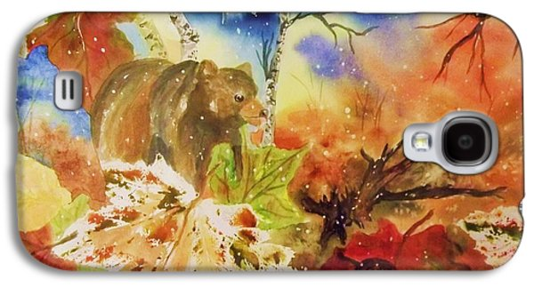Surreal Landscape Galaxy S4 Cases - Changing of the Seasons Galaxy S4 Case by Ellen Levinson