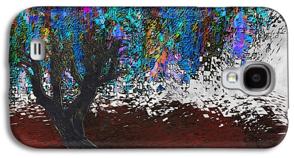 Installation Art Galaxy S4 Cases - Changing Tree Galaxy S4 Case by Jack Zulli