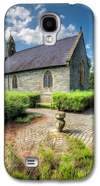 Walkway Digital Art Galaxy S4 Cases - Chapel 17th Century  Galaxy S4 Case by Adrian Evans