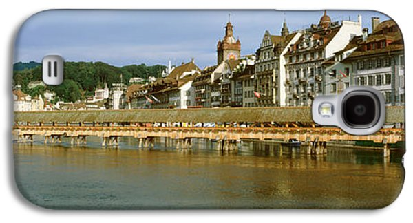 Lucerne Galaxy S4 Cases - Chapel Bridge, Luzern, Switzerland Galaxy S4 Case by Panoramic Images