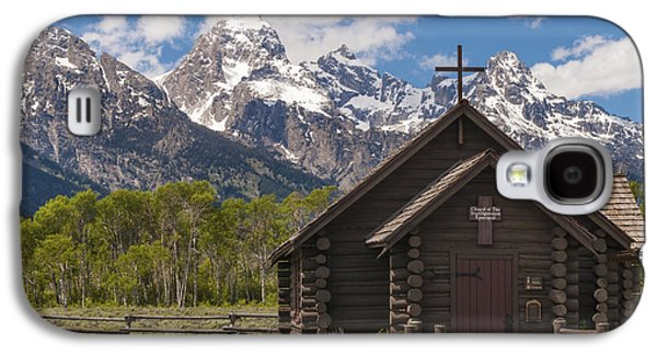 Log Cabin Photographs Galaxy S4 Cases - Chapel Of The Transfiguration - Grand Teton National Park Wyoming Galaxy S4 Case by Brian Harig