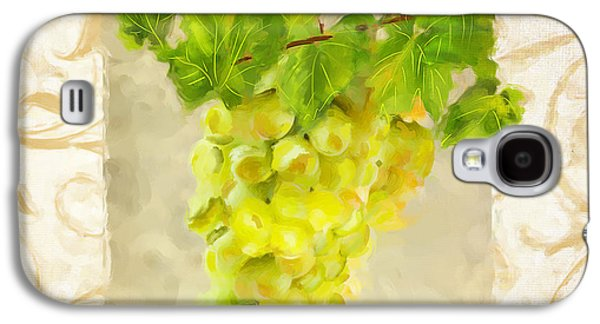 Grape Vineyard Galaxy S4 Cases - Chardonnay II Galaxy S4 Case by Lourry Legarde