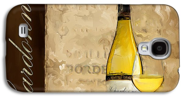 Grape Vineyard Galaxy S4 Cases - Chardonnay III Galaxy S4 Case by Lourry Legarde