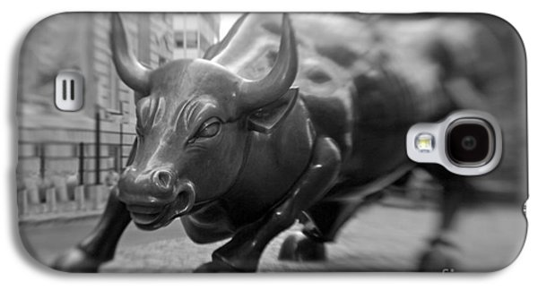 Finance Galaxy S4 Cases - Charging Bull 1 Galaxy S4 Case by Tony Cordoza