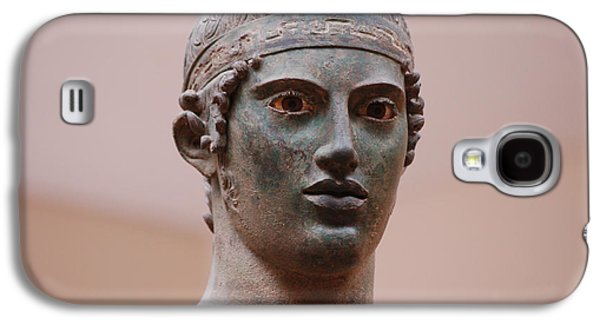 Bust Sculptures Galaxy S4 Cases - Charioteer  Galaxy S4 Case by Beth Wolff