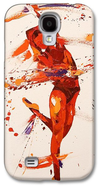 Ballet Dancers Paintings Galaxy S4 Cases - Charisma  Galaxy S4 Case by Penny Warden
