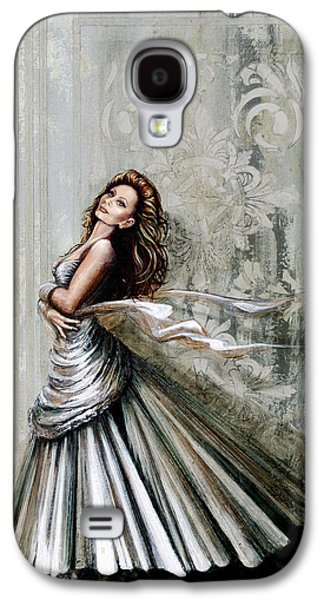 Ball Gown Galaxy S4 Cases - Charles James Swan Gown Galaxy S4 Case by Joan Garcia