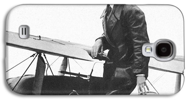 Charles Lindbergh Galaxy S4 Case by Unknown