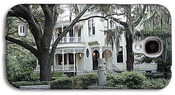 Historic Home Galaxy S4 Cases - Charleston South Carolina Historical Victorian Mansion - Charleston South Carolina Southern Mansions Galaxy S4 Case by Kathy Fornal