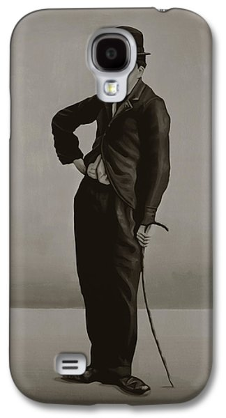 The New York New York Galaxy S4 Cases - Charlie Chaplin Galaxy S4 Case by Paul Meijering