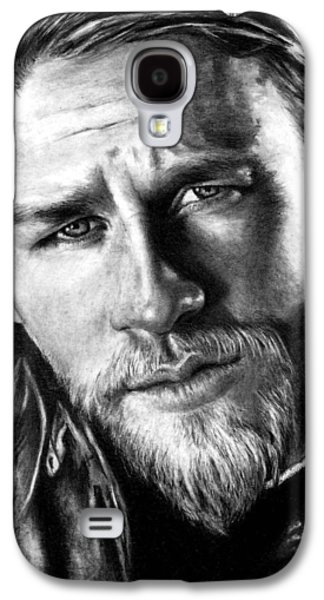 Jackson Galaxy S4 Cases - Charlie Hunnam as JAX TELLER Galaxy S4 Case by Rick Fortson