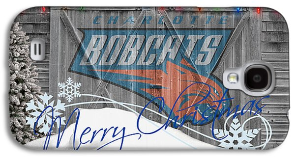 Charlotte Bobcats Galaxy S4 Case by Joe Hamilton