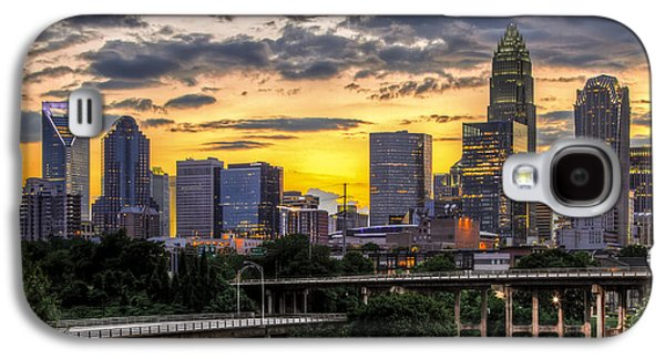 Carolina Galaxy S4 Cases - Charlotte Dusk Galaxy S4 Case by Chris Austin