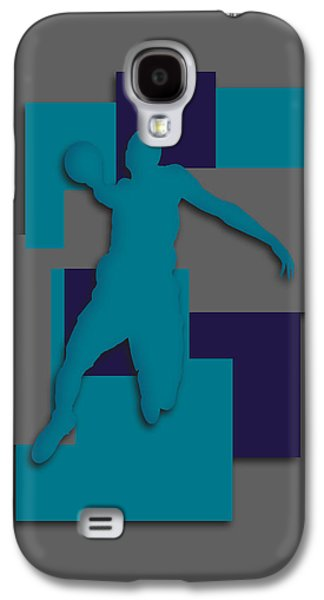 Charlotte Photographs Galaxy S4 Cases - Charlotte Hornets Art Galaxy S4 Case by Joe Hamilton