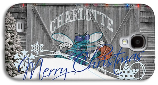 Charlotte Photographs Galaxy S4 Cases - Charlotte Hornets Galaxy S4 Case by Joe Hamilton