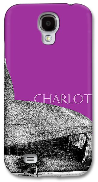 Charlotte Digital Galaxy S4 Cases - Charlotte Nascar Hall of Fame - Plum North Carolina Galaxy S4 Case by DB Artist