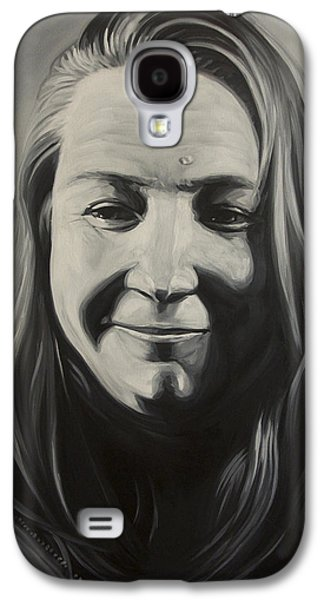 Charlotte Drawings Galaxy S4 Cases - Charlotte Galaxy S4 Case by Steve Hunter